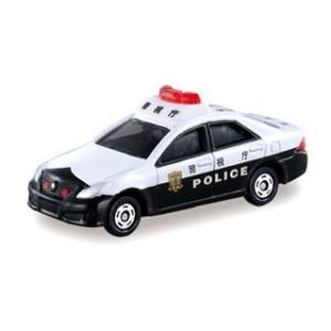 トミカ No.110 クラウン パトカー (2012年 新発売版) 【サック箱 警察車両 ミニカー ...