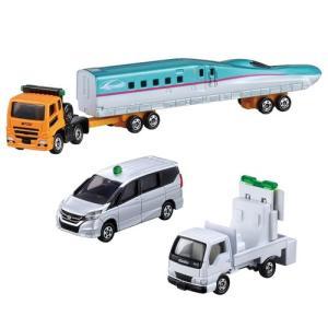 トミカギフト ならべてたのしい! 新幹線輸送トレーラーセット 4904810399087|yousay-do