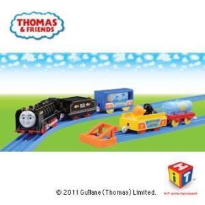 プラレール 車両 プラレール トーマス トーマスシリーズ ヒロと水族館貨車セット 車両|yousay-do