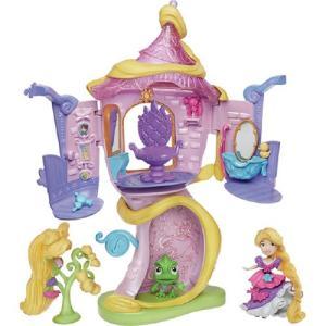 ディズニープリンセス リトルキングダム ラプンツェルの塔の上...