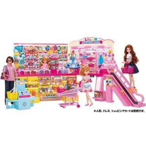 リカちゃん セルフレジでピッ!おおきなショッピングモールりかちゃん リカちゃん人形 ハウス