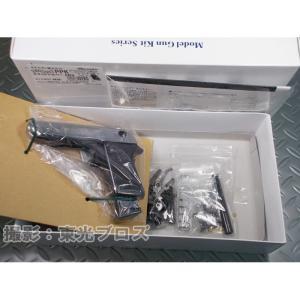 マルシン工業 発火モデルガン組立キット ワルサーPPK スライドシルバーABS 4920136004504