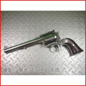 マルシン工業 6mmBBガスガンリボルバー スーパーブラックホーク 7.5インチ シルバーABS Xカートリッジ仕様 4920136048560|yousay-do
