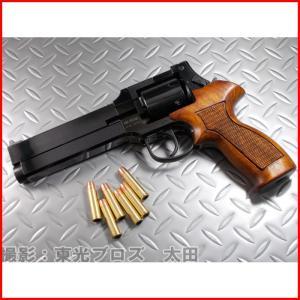 マルシン工業 6mmBBガスガン マテバリボルバー Xカートリッジ Wディープブラック 木製グリップ仕様 4920136049246 yousay-do