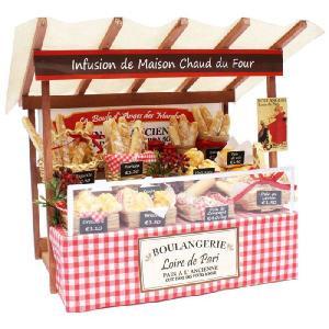 ビリーの手作り ドールハウスキット パリのマルシェキット パリのパン屋さん ミニチュアドールハウスキット|yousay-do