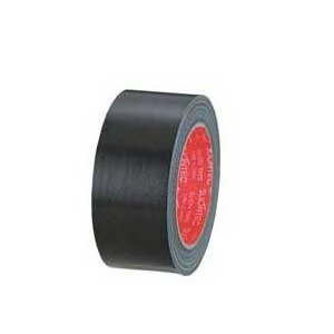 カラー布テープ 50mm×25m 黒 343702BK|yousay-do