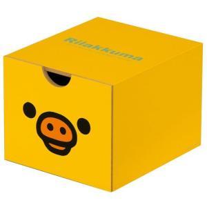 リラックマ りらっくま 木製引き出しボックス キイロイトリ リラックマ グッズ|yousay-do