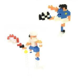 ナノブロック × 大図まこと 球技 サッカー&テニス NBCB-004 yousay-do
