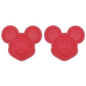シリコンケーキ型 2個入り 食洗機対応 ミッキーマウス|yousay-do