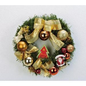 クリスマス用 飾り リース ミニリース グリーン yousay-do