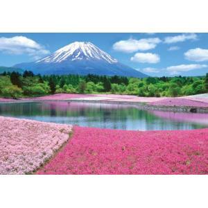 ジグソーパズル 1000ピースマイクロ 風景 富士を彩るシバザクラ M71-863