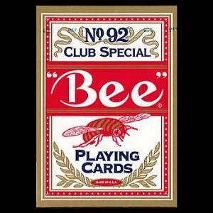 トランプカード ビーカード ポーカーサイズ 赤/レッド|yousay-do