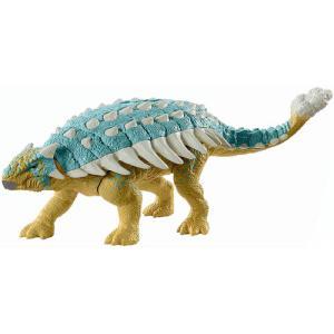 送料無料 ジュラシック・ワールド アクションフィギュア アンキロサウルス バンピー GWY27 887961950281の画像