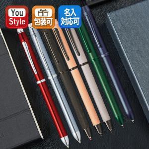クロス テックスリープラス TECH3+ 多機能ペン 複合ペン (BP黒・赤+PC0.5mm+スタイ...
