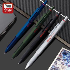 ロットリング ROTRING マルチペン 600 3in1 ブラック  2121116 / シルバー...