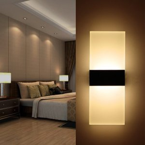 LEDウォールライト 室内インテリア照明 人感センサー付き 6W 3500K  自動点灯 照明 ベッドサイドランプ 壁掛け照明l 壁に簡単に設置できます