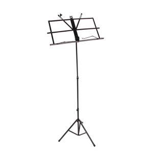 譜面台 伸縮自在 折りたたみ式 楽譜スタンド 譜面台 軽量 スチール製 高さ調節可能 ソフトケース付 持ち運び