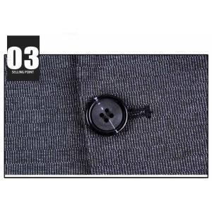 テーラードジャケット メンズ 春 秋 大きいサイズ ビジネススーツ ジャケット 長袖 無地 スーツ ビジネスコート アウター 紳士用 カジュアルコート 送料無料|youyamashopping|05