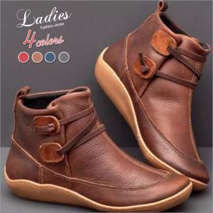 ブーツ ワークブーツ マーチンブーツ ブーティ レディース ヒール ショートブーツ 革ブーツ 革靴 ...