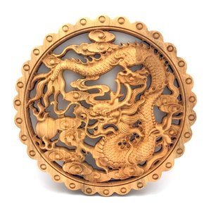 木製 龍の円盤|yowado