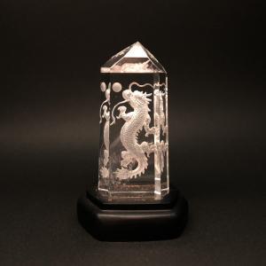 四神の彫刻水晶 青龍|yowado|02