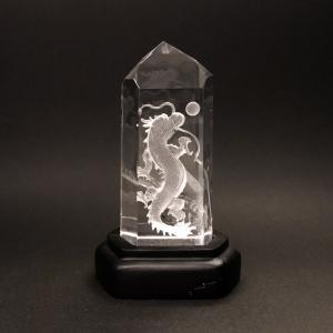 四神の彫刻水晶 青龍|yowado|03