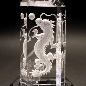 四神の彫刻水晶 青龍|yowado|06