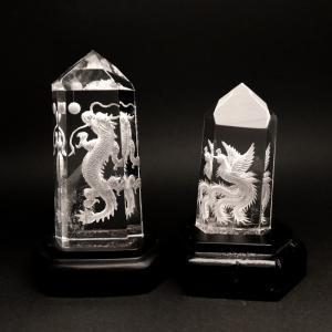 四神の彫刻水晶 青龍|yowado|07