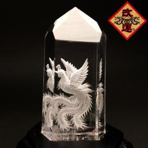 四神の彫刻水晶 朱雀 yowado