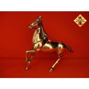 馬の置物 金色|yowado