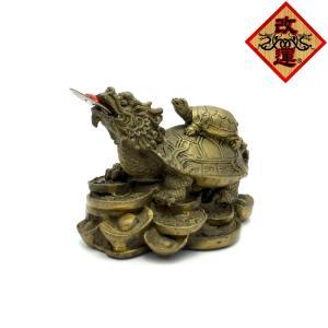 龍亀 ロングイの置物 小|yowado