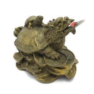 龍亀 ロングイの置物 小|yowado|15