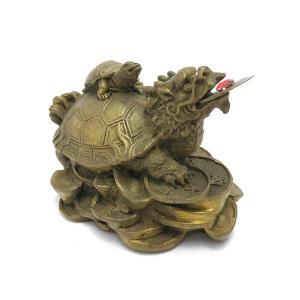 龍亀 ロングイの置物 小|yowado|09