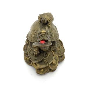 龍亀 ロングイの置物 小|yowado|10