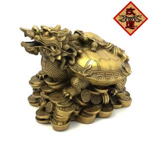 龍亀 ロングイの置物 大|yowado