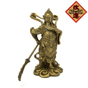 関羽様の神像 中|yowado