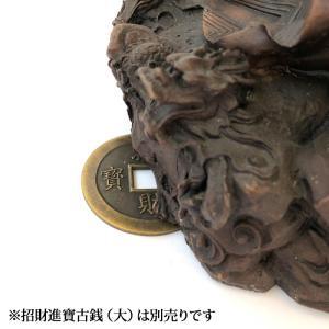 関羽様の神像 古銅色 大 |yowado|11