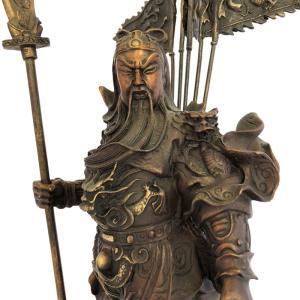関羽様の神像 古銅色 大 |yowado|03