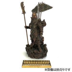 関羽様の神像 古銅色 大 |yowado|09