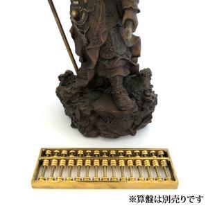 関羽様の神像 古銅色 大 |yowado|10