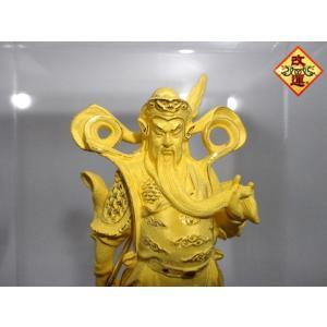 関羽様の神像 純金仕上げ|yowado