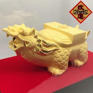 贔屓 ヒイキの置物 純金仕上げ|yowado