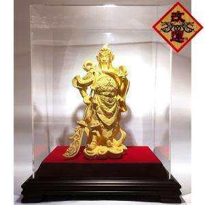 関羽様の神像 純金仕上げ  大|yowado