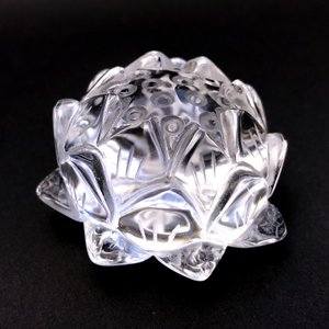 蓮の花 水晶|yowado