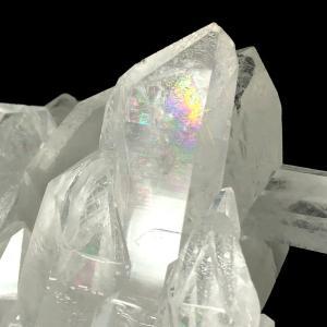 ブラジル産 レインボー入り 水晶クラスター 777g SC001 yowado 12