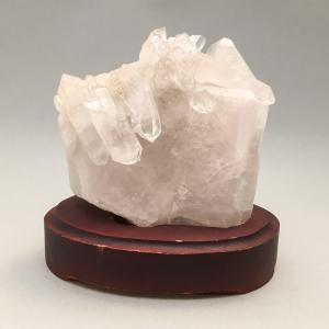 水晶クラスター 台座付|yowado