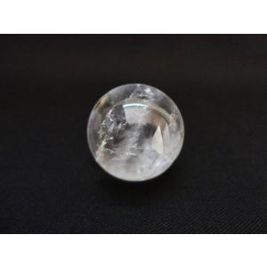 水晶丸玉  空間や土地の浄化に 約34mm〜35mm|yowado