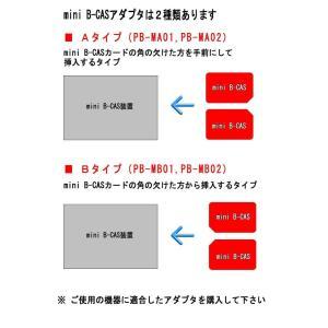 PB-MA02:mini B-CAS 変換アダプター 《B-CAS to mini B-CAS Aタ...