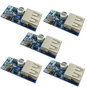 KKHMF 5 個 DC-DC USB 0.9V-5V に 5V 電圧変換ステップアップブースターモ...