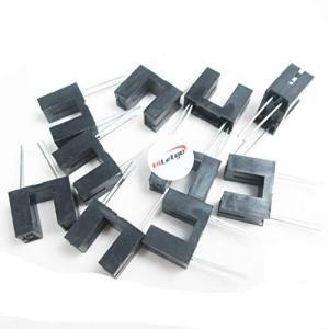 HiLetgo 20pcs ITR9608-F光電スイッチ光遮断器光電センサ